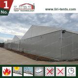 2000 مربّعة عداد تخزين ألومنيوم بيضاء لون مستودع خيمة