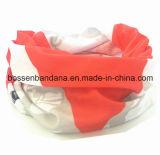 Cuir épais multifonctionnel de Headwear de sports de Microfiber de polyester de produit d'OEM