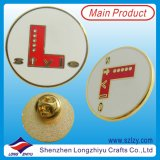 Pin значка трудной имитационной эмали способа Cloisonne (LZY-10000139)