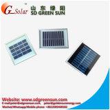 панель солнечных батарей 1W с рамкой Tempered стеклянной крышки и Al