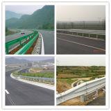 Accesorios revestidos de la barandilla de la carretera de la viga del certificado W del Ce para la seguridad de tráfico