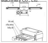 まめの型抜き機械をスタックするカスタム完全な自動挿入の切断