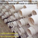 Tuyau en plastique PVC / tuyau d'évacuation en PVC / tuyau de drainage en PVC