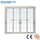Puertas de aluminio modificadas para requisitos particulares del aislante de calor y puertas deslizantes de aluminio de Windows