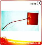 base 200X200mm del riscaldatore della gomma di silicone 12V