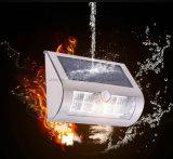Lampe actionnée solaire du mur DEL de frontière de sécurité de jardin de lanterne de mur avec le détecteur de mouvement