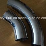 Ss304 Materialの衛生Stainless Steel 90 Degree Clamped Elbow