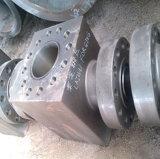 Corpo de válvula forjado quente do aço inoxidável para o petróleo e o gás