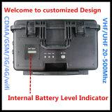 Brouilleur portatif, brouilleur de téléphone cellulaire, brouilleur complet de signal, brouilleur interne d'antennes