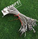 PVCが付いている鋼線ロープのコネクターは塗った