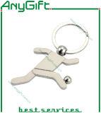 Porte-clés en alliage de zinc avec le logo adapté aux besoins du client 29