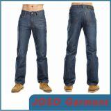 Mann-Polyester-Baumwollausdehnungs-Denim-Gewebe-Jeans (JC3056)