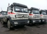中国の大型トラック380HPのトラクターのトラックのBeibenのトラクターヘッド