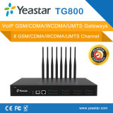 Yeastar 8チャネルのVoIP GSM/CDMAのゲートウェイ(NeoGate TG800)