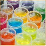 Lama mágica do vidro da cor do Slime do solo de cristal