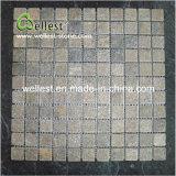 Mosaico cuadrado de la pizarra de la dimensión de una variable para la pared y el suelo