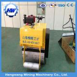 Rolo de estrada do compressor Vibratory do cilindro do motor de gasolina único (HW-600)