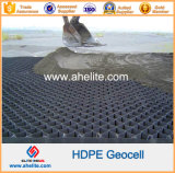 HDPE plástico superficial Textured liso Geoweb Geocells