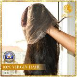 Peluca peluca llena del cordón de Remy de la Virgen del pelo humano peluca brasileña