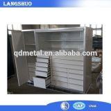 OEM Ls-2017 cabina de herramienta industrial del metal del rodillo de 72 pulgadas