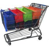 120gのNon-Woven、Non-Woven材料およびスーパーマーケットのトロリー袋様式のスーパーマーケットのトロリー袋