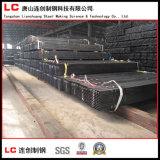 Tubo/tubo huecos negros de la sección para el edificio de la estructura en alta calidad