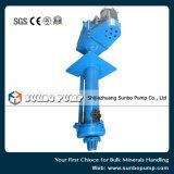 Pompe centrifuge verticale de vente chaude/pompe de carter de vidange avec le moteur pour l'industrie minière