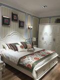 한국 작풍 침대, 침실 가구, 새로운 도착 가죽 침대 (L098)