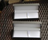 Rectángulo plástico bonito de la pluma del papel de imprenta de la alta calidad