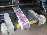 Máquina que raja del papel de escritura de la etiqueta de la etiqueta engomada de la hoja del Web de Rtfq-1500bc
