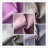 Tela de tapicería cepillada funcional tejida polivinílica del ante para el sofá (HS-1067A)