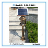 De LEIDENE Zonne Aangedreven Lamp van de Tuin met de Elektronische Functie van Zapper van de Mug - 2 in 1 Licht van Zapper en van de Lantaarn