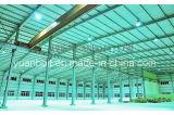 Armazém de aço padrão qualificado da oficina do telhado solar