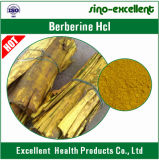 HCl natural de Berberine do extrato da planta