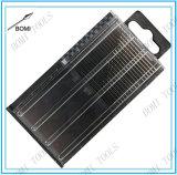 20PC HSS Mini Micro Fresa espiral Bit Índice Gauge Set alambre 61-80 / 0.3-1.6mm en una caja de plástico