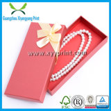 Коробка подарка выполненных на заказ бумажных ювелирных изделий упаковывая для сбывания
