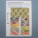 型の花デザイン織り目加工の総合的な印刷された装飾的なパッキングPUの革