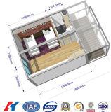 Casa de vida do bloco liso do móvel da construção de aço (KXD-CH29)