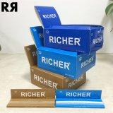 Richer 14GSM Ultra mince cigarette à combustion lente Smoking Rolling Paper