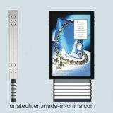 Рекламировать напольную коробку Backlight Scroller СИД рамки плаката