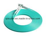 Fibra Patchcord óptico de LC-LC milímetro Om3 50/125