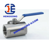 Valvola a sfera elettrica del filetto dell'acciaio inossidabile di API/ANSI/DIN CF8m