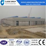 Almacén directo de la estructura de acero de la alta fábrica económica de Qualtity/vertido/hangar con diseño