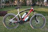 Bici di montagna elettrica della sospensione del doppio della lega da 26 pollici (OKM-1176)