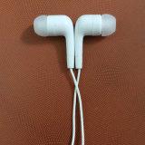 Fone de ouvido do estéreo do branco 3.5mm