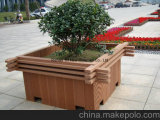 WPC Decking-Blumen-Regal