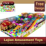1176 enfants moderne souple aire de jeux intérieure (T1271-10)