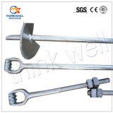 Linea elettrica ancoraggio Rod dell'occhio del cilindro porta caratteri dei montaggi del hardware