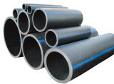 Cadena de producción del tubo de escape del PE. Tubo del HDPE que hace la máquina