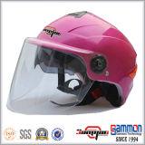 モーターバイクまたはスクーター(HF314)のためのDouble Visors Helmet美しい女性